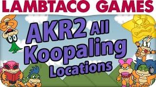 Video A Koopa's Revenge 2 - All Koopaling Locations | LTG download in MP3, 3GP, MP4, WEBM, AVI, FLV January 2017