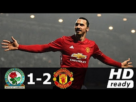 Blackburn vs Manchester United 1-2 ● All Goals & Extended Highlights ● FA Cup ● 19/02/2017 [HD]