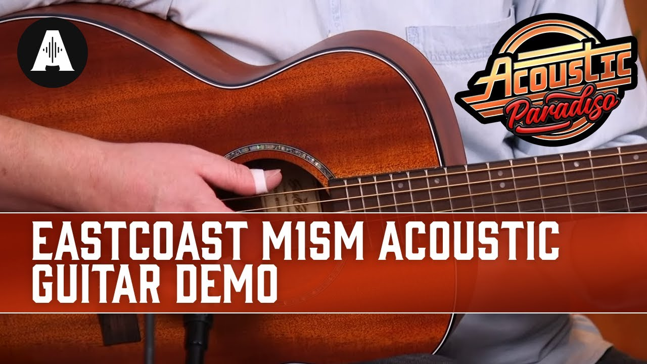 EastCoast M1SM Travel Acoustic Guitar Demo – The Best Affordable Acoustic Guitars!