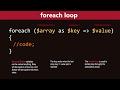 PHP Foreach Loop Tutorial