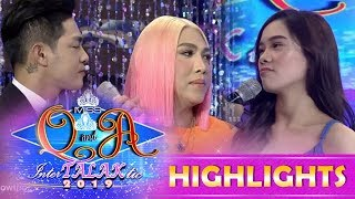 Video It's Showtime Miss Q & A:Vice Ganda notices something with Jackque and Ion MP3, 3GP, MP4, WEBM, AVI, FLV Januari 2019