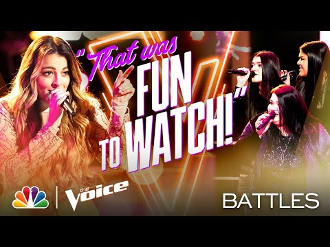 "Taryn Papa vs. Worth the Wait - Little Big Town's ""Little White Church"" - The Voice Battles 2020"