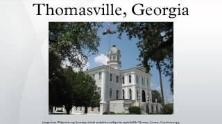 Thomasville (GA) United States  City pictures : Thomasville, Georgia