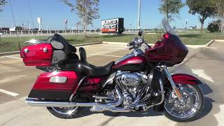 6. 951370   2011 Harley Davidson CVO Road Glide Ultra   FLTRUSE Used motorcycles for sale