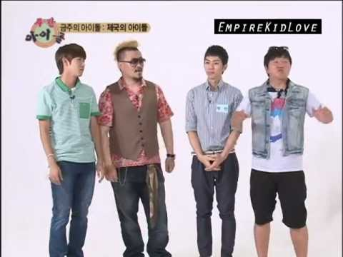 [27 Aug][ENG] ZE:A – Beating Kwanghee! [1/2]