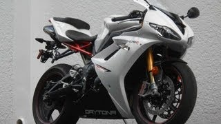 9. 2012 Triumph Daytona 675R Ride Video Gulf Coast Motorcycles