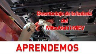 Desmontaje de la batería del Mitsubishi i-MiEV