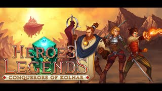 Видео Heroes & Legends: Conquerors of Kolhar