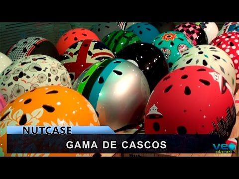 Mercado al día BikeZona TV - Cascos NutCase