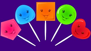 Five Little Lollipops   Nursery Rhymes For Kids And Children