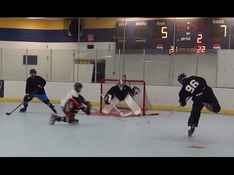 Amazing Saves Of Jag Chahal & Grant Anderson – Roller Hockey Saves Roller Hockey Top Goalies