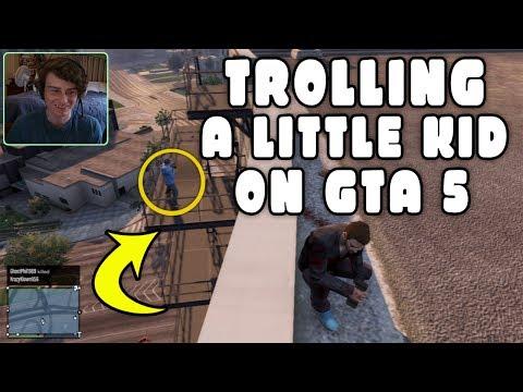 GTA 5 ONLINE – TROLLING Little Kids on GTA 5 (Funny Deaths & Kills!)