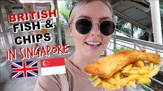 Video IS THIS THE BEST BRITISH FISH & CHIPS IN SINGAPORE?! MP3, 3GP, MP4, WEBM, AVI, FLV November 2018