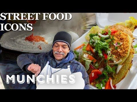 The Legendary Dosa Man Of NYC -  Street Food Icons