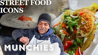 Video The Legendary Dosa Man of NYC -  Street Food Icons MP3, 3GP, MP4, WEBM, AVI, FLV April 2019