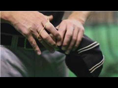 Baseball Equipment : How to Bend the Brim of a Baseball Cap