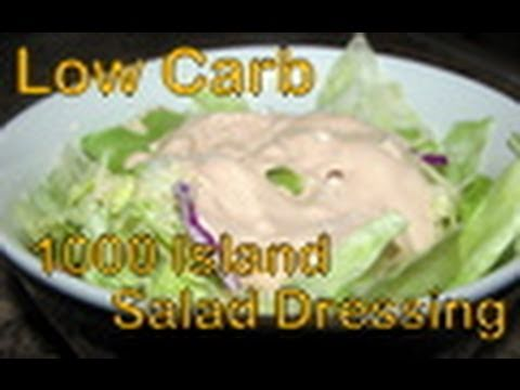 Atkins Diet Recipes: Low Carb Thousand Island Salad Dressing