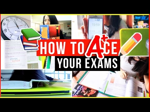 Exams/Finals Survival Guide: 18+ Study & Organization Tips | How to Get Straight A's on Tests!
