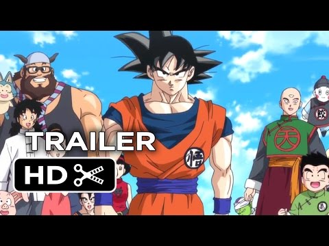 Dragon Ball Z: Battle of Gods Official US Release Trailer (2014) – Anime Action Movie HD