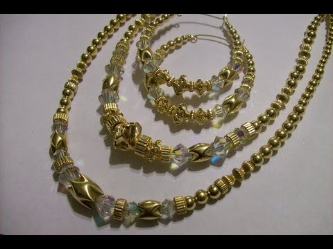 Gold Filled Beaded Jewelry by Dara T