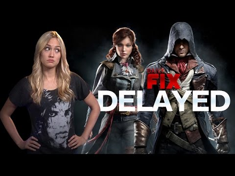 assassin - Assassin's Creed: Unity gets delayed & Xbox's Games With Gold new free games. Plus, Destiny's exclusive PS4 trailer, Xbox One's version gets pre-loading & Nintendo's Miyamoto gets focused....