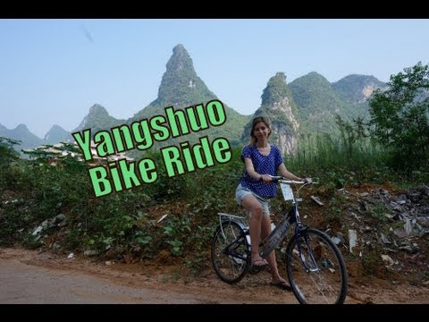 VIDEO: Yangshuo Bike Ride