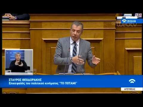Στ. Θεοδωράκης: Θετική ψήφος για Πρέσπες, δεν σημαίνει ψήφος εμπιστοσύνης | 16/01/19 | ΕΡΤ