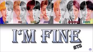 BTS (방탄소년단) – I'M FINE German Lyrics [Han/Rom/Ger]