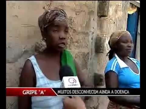 TV ZIMBO GRIPE A -gripe nu é tosse?