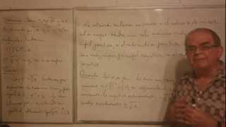 Algebra Intermedia - Lección 1 - B (la única Raíz De Orden Impar Y Las Dos Raíces De Orden Par)