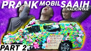 Video PART 2 PRANK Tempelin Boneka & Bola ke Mobil Baru Saaih Halilintar MP3, 3GP, MP4, WEBM, AVI, FLV April 2019