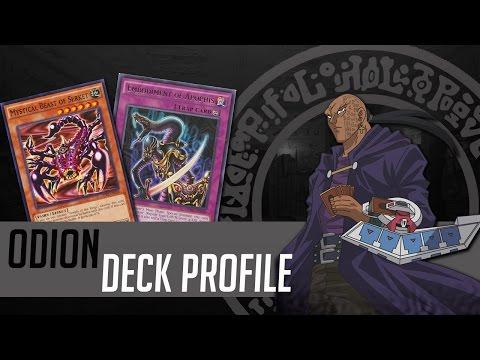 YU-GI-OH! Odion Character Deck Profile