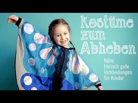 Das große Krabbeln: Faschingskostüme für Kinder selber nähen – Intro Anleitung