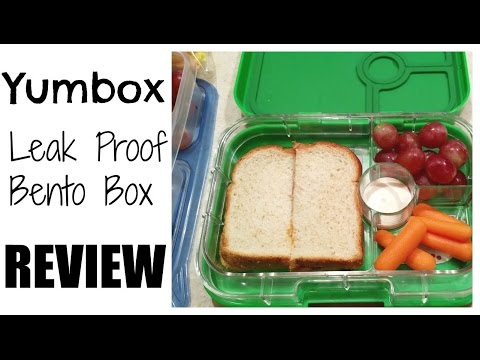 YumBox Leak Proof Bento Box Review (Yumbox Panino)