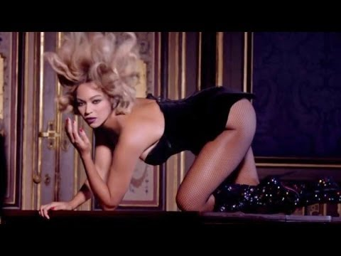 """Beyonce Sexy Nude Pole Dancing EXPLICIT """"Partition"""" Music Video!"""
