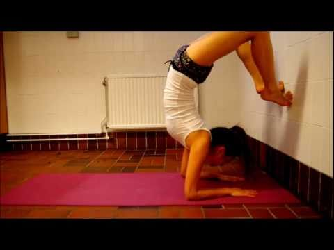 How to practice Yoga Scorpion Pose Vrischikasana