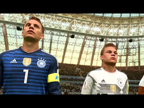 FIFA 2018 - World Cup Russia Update Gameplay - Germany Vs. Mexico