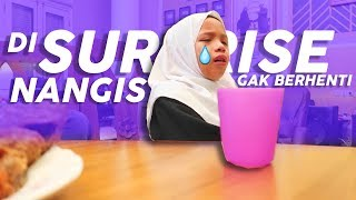 Video PRANK SURPRISE SALEHA *NANGIS Gak Berhenti* MP3, 3GP, MP4, WEBM, AVI, FLV Juni 2019