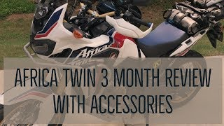 4. Africa Twin (DCT) 3 Month Review including Accessories