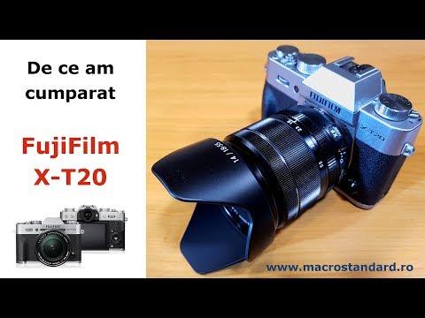 Cum am ajuns sa cumpar Fujifilm X-T20 si ce alte marci de aparate foto am avut in vedere