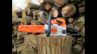 6. chainsaw stihl MS180. 2018