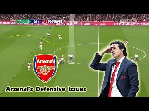 Arsenal's Defensive Issues & Unai Emery's Defensive Tactics