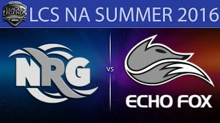 NRG vs EFX, game 1