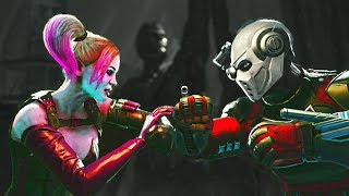 Injustice 2 Harley Quinn vs Deadshot All intros, clash quotes and supermoves from Injustice 2  Injustice 2 Playlist https://www.youtube.com/playlist?list=PLIHdjqWw8amLejxTrprTd5om6niDsWg4LSUBSCRIBE for daily Injustice 2 content!https://www.youtube.com/user/MaximumGuarded2