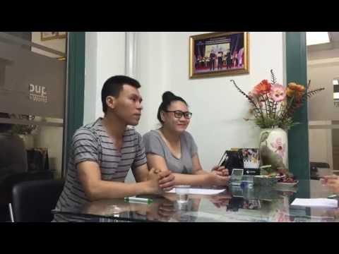 Quang Tuấn & Kim Chi Thực tập Mỹ