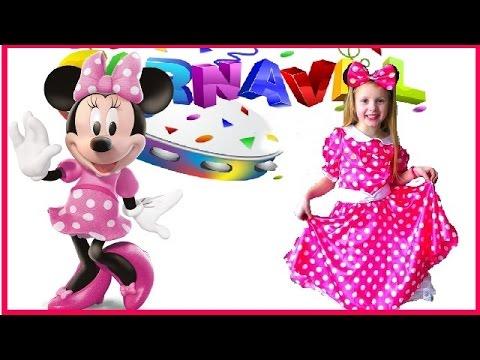 Disney Minnie A la recherche du déguisement de carnaval # Shopping mardi gras