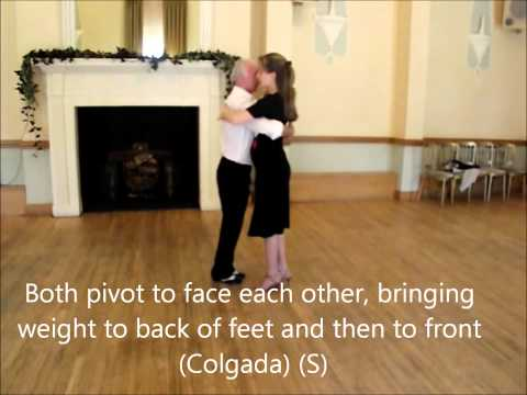 Argentine Tango Lesson 12 – Simple Colgado to Left