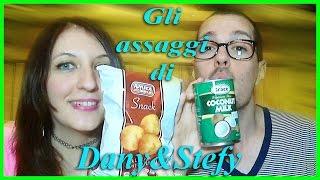 Gli Assaggi di Dany&Stefy - Palline alla pizza amica chips e Latte di Cocco COCONUT MILK