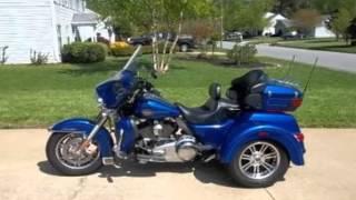 8. 2010 Harley Davidson FLHTCUTG Tri Glide Ultra Classic Trike Touring in Virginia Beach, VA