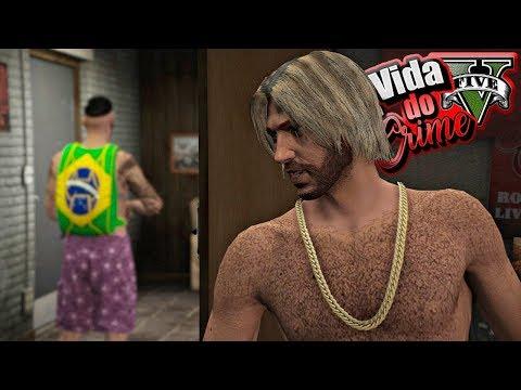 GTA V : VIDA DO CRIME : A FUGA DO BARBA NEGRA! OS PROBLEMAS SÓ AUMENTAM! : EP.45